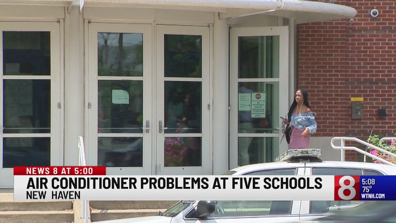 New Haven schools continue session after broken air conditioner issues