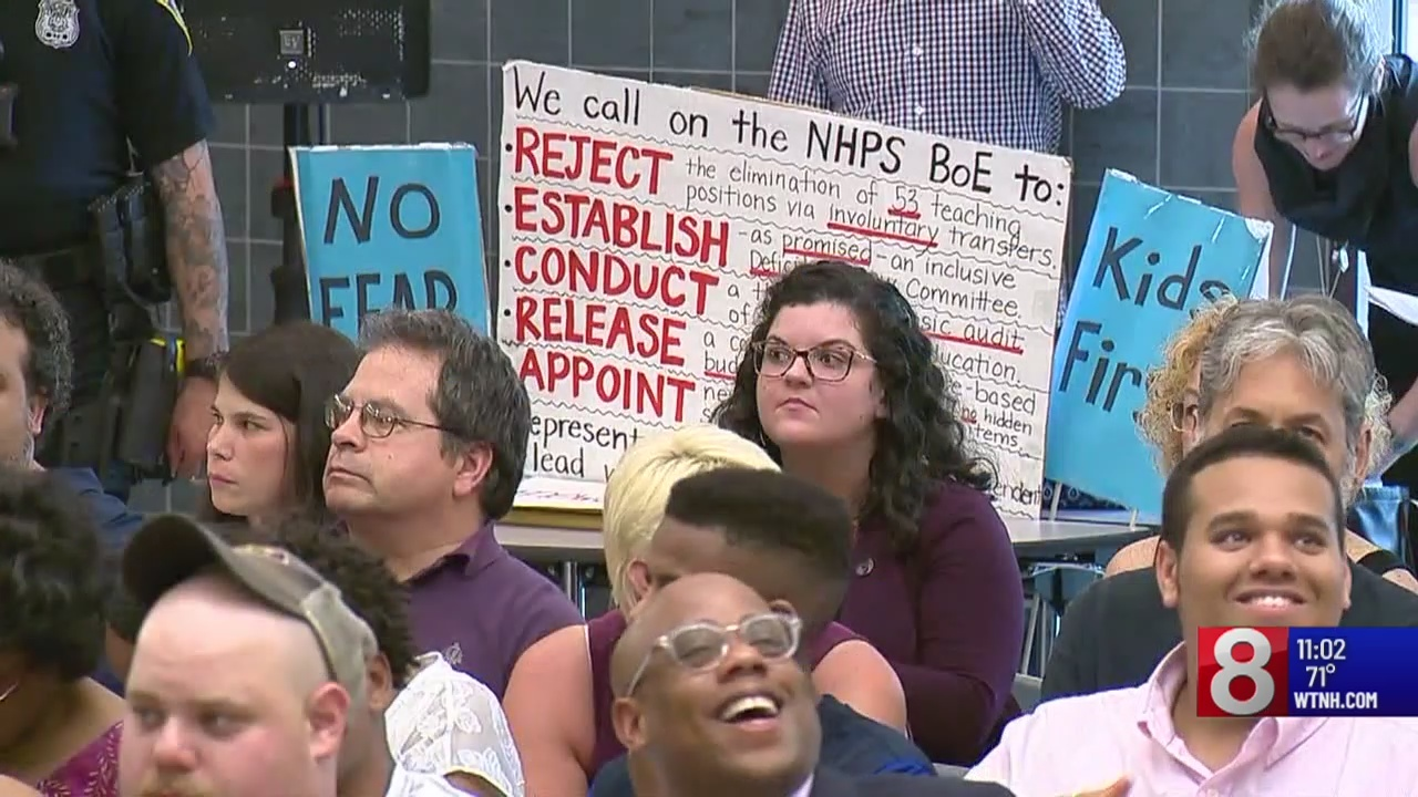 New Haven teacher positions not eliminated