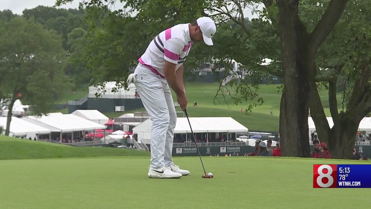 Round two of Travelers Championship, Military Appreciation Day kick off Friday