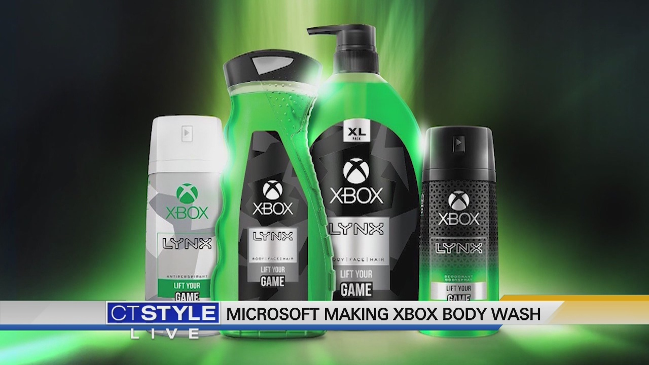 Today's Dish: Xbox body spray