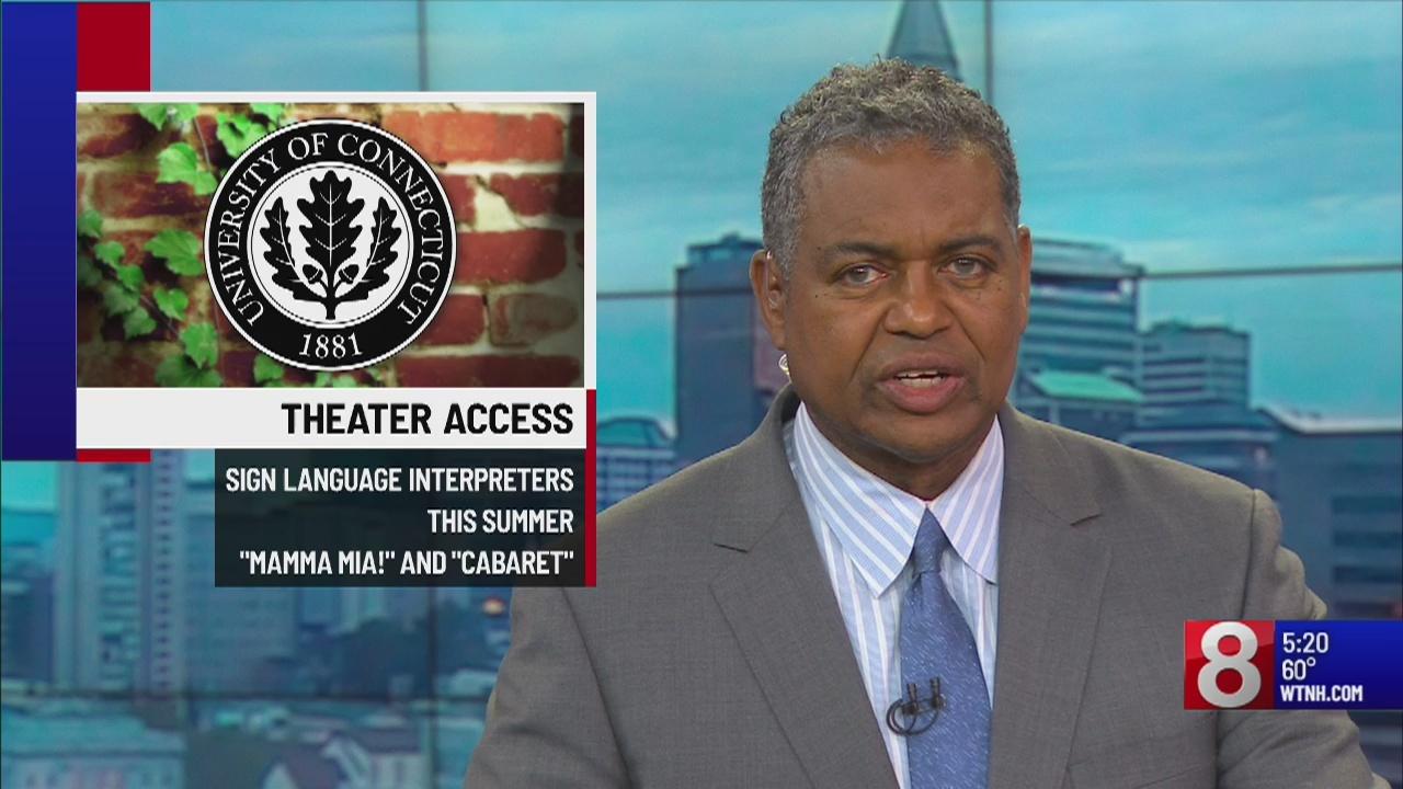 UConn providing sign language interpreters for musicals