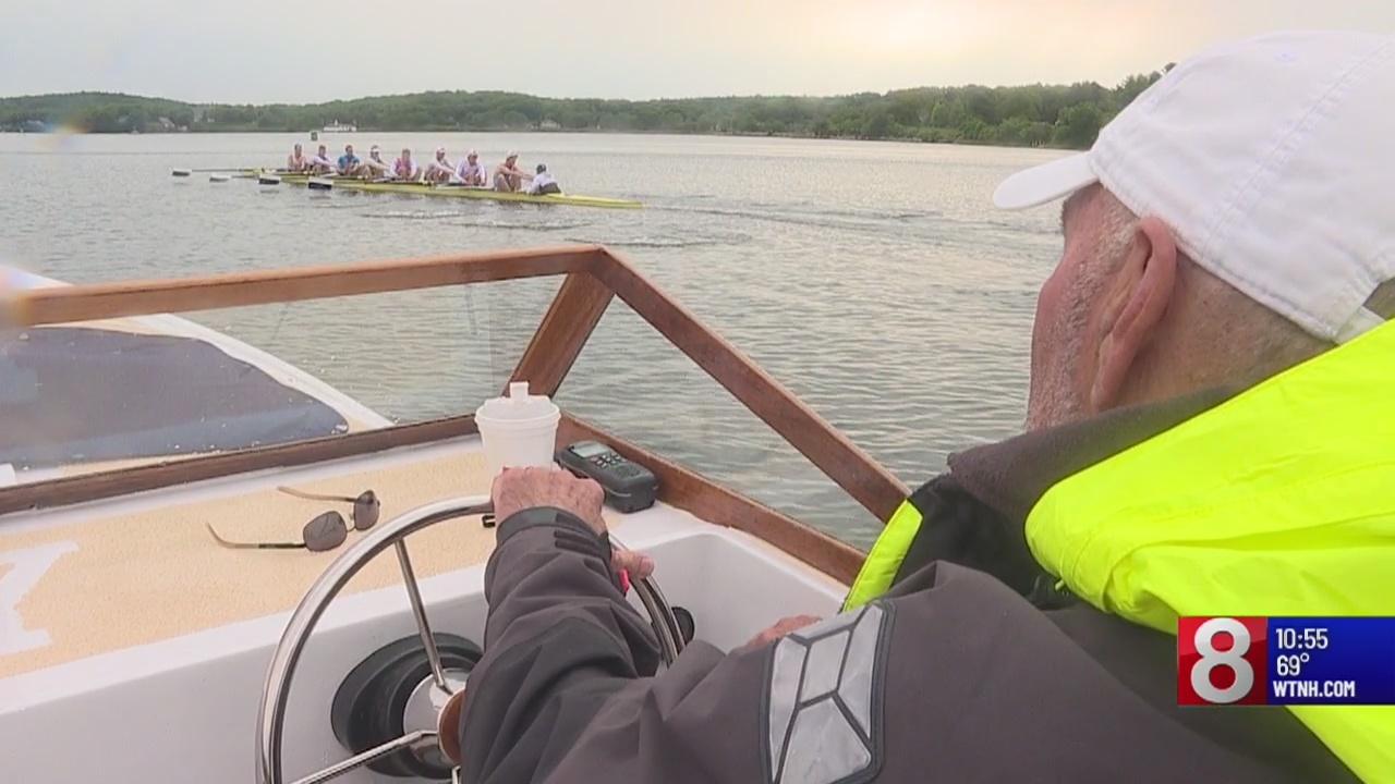 Yale's crew team is going full speed ahead towards annual Yale-Harvard Regatta
