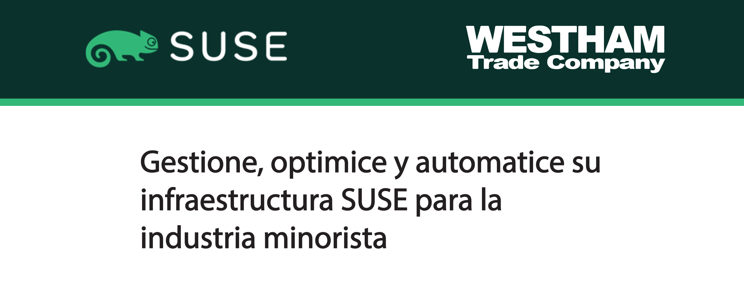 SUSE Manager for Retailevent