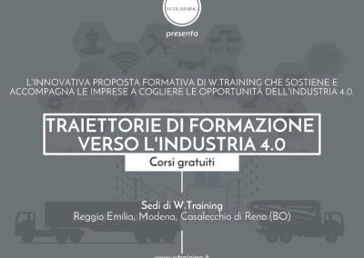 Traiettorie di formazione verso l'Industria 4.0
