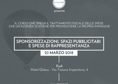 Sponsorizzazioni, spazi pubblicitari e spese di rappresentanza
