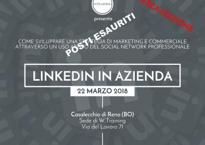 Linkedin in azienda – TERZA EDIZIONE