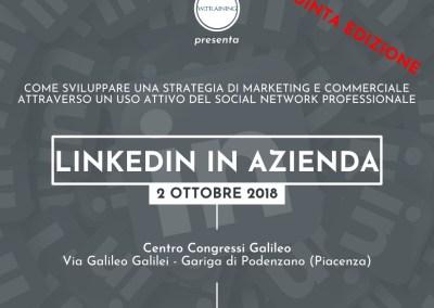 Linkedin in azienda – QUINTA EDIZIONE