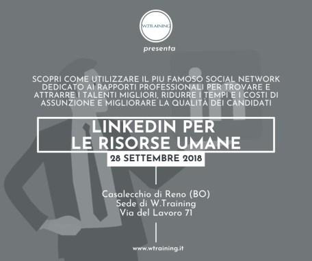 Linkedin per le risorse umane