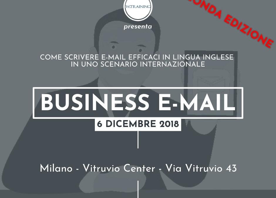 BUSINESS E-MAIL – seconda edizione