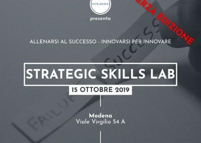 Strategic Skills Lab – terza edizione