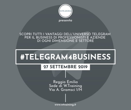 #Telegram4Business