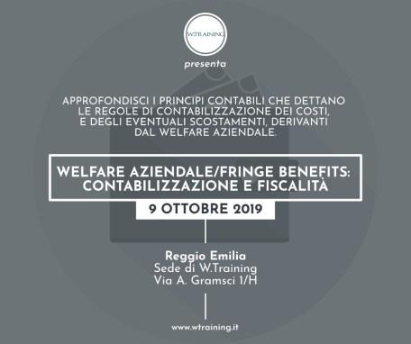 Welfare aziendale/fringe benefits: contabilizzazione e fiscalità