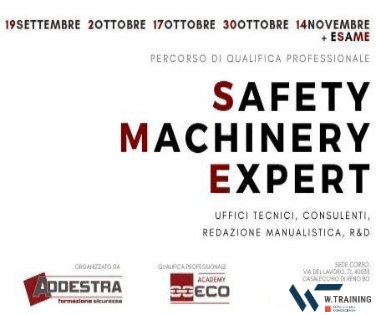 Safety Machinery Expert – Qualifica Professionale