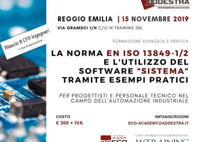 """La norma EN ISO 13849-1/2 e l'utilizzo del software """"Sistema"""""""