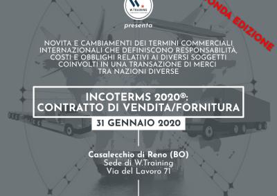 Incoterms 2020®: contratto di vendita/fornitura – SECONDA EDIZIONE