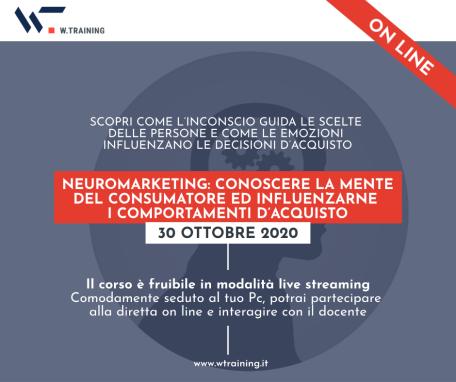 NEUROMARKETING: CONOSCERE LA MENTE DEL CONSUMATORE ED INFLUENZARNE I COMPORTAMENTI D'ACQUISTO