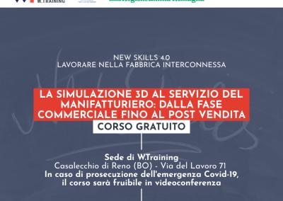 LA SIMULAZIONE 3D AL SERVIZIO DEL MANIFATTURIERO: DALLA FASE COMMERCIALE FINO AL POST VENDITA