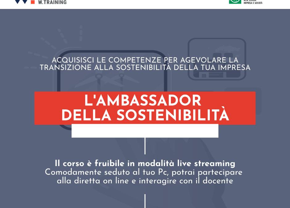L'AMBASSADOR DELLA SOSTENIBILITÀ – STARTER EDITION