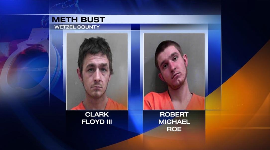 Three arrested after Wetzel Co  drug bust
