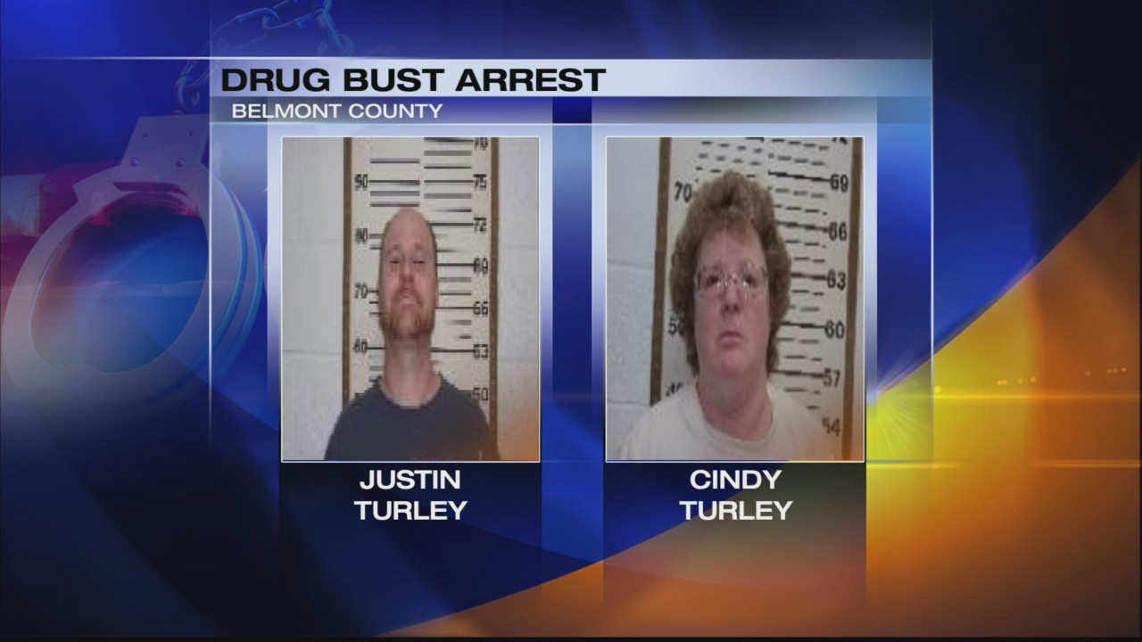 2 Belmont County residents arrested on various drug charges