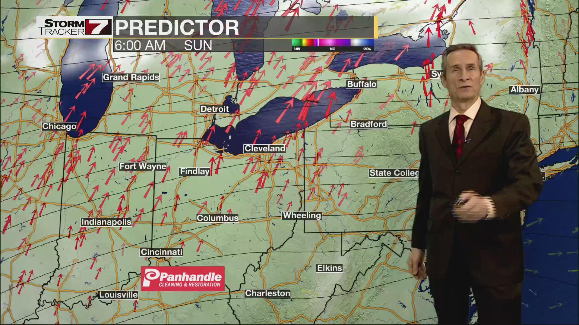 Dr Dave Walker S Evening Forecast Wtrf