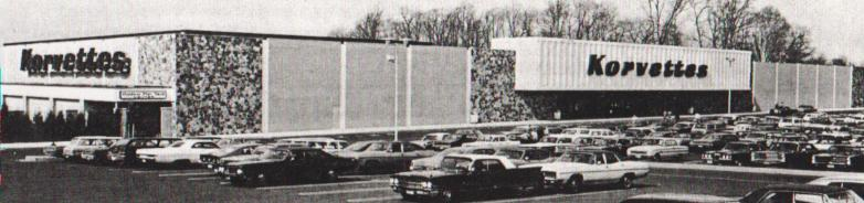 Korvettes Department Store New Jersey