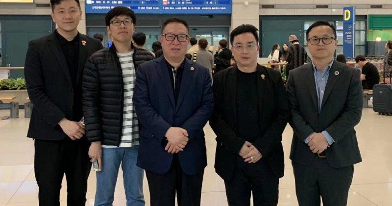 The Chinese UAV delegation entered South Korea.