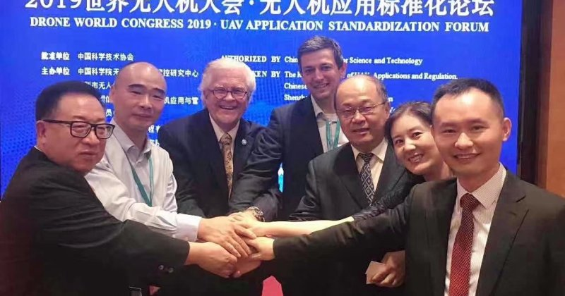 Met with Mr. John Skool Walker, the chairman of the International Standards Organization UAV Subcommittee