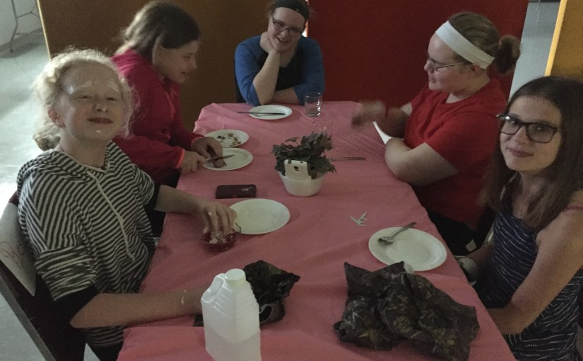 Youth Group – Silly Supper