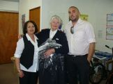 Uniforms donated to home based carers by Duchess - 25.09.09 009