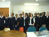 Uniforms donated to home based carers by Duchess - 25.09.09 021