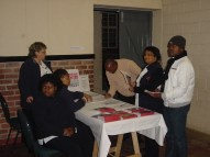 Home Based Carers greeted guests on arrival