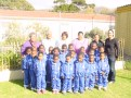 Team Emmanuel with the Principal, Teachers Val, Hazel, Amezil, Gretchen & Maxine
