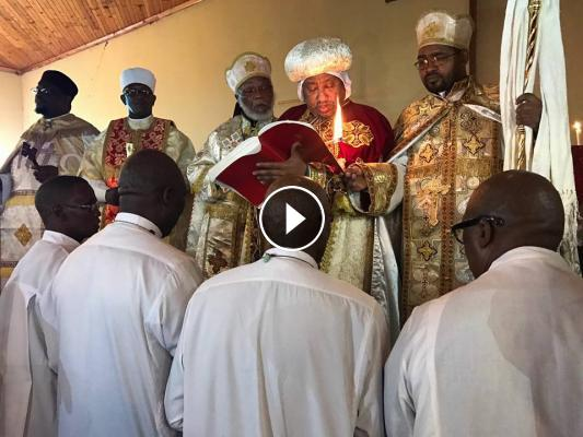 Four South African Men Becomes Ethiopian Orthodox Tewahedo