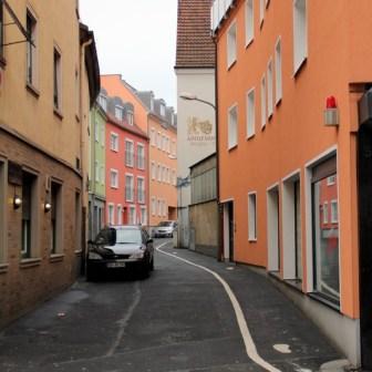 Die Handgasse verbindet zwischen Semmelstraße und Kartause