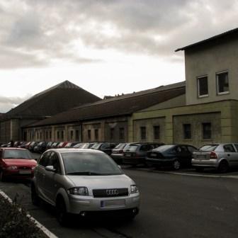 """""""Frankenhalle"""" in der Scanzonistraße."""