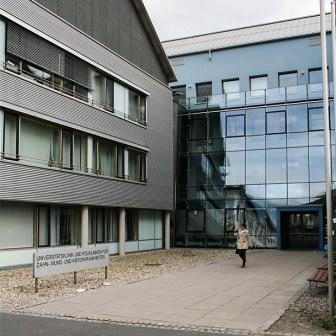 Zahnklinik am Pleicherwall in Würzburg.