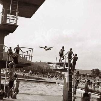 Sprungturm 1956