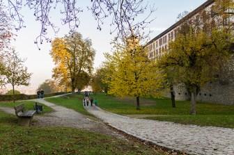Rundgang um die Festung Marienberg.