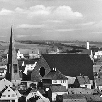 Historische Postkarte aus Versbach aus dem Jahr 1965.