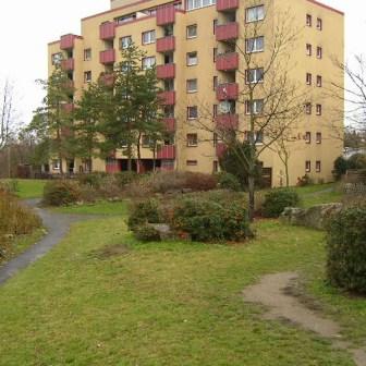 Grünanlagen in der Bonner Straße im Dezember 2004.
