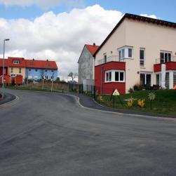 Neubaugebiet oberhalb von Versbach.