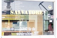 """Pizzabäcker Salavatore sagt """"DANKE für die wunderschöne Zeit""""."""