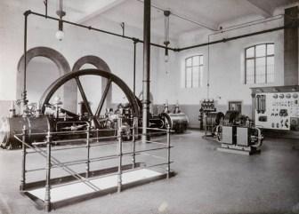 Teilaufnahme des ehemaligen Maschinenhauses.