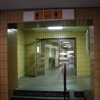 """Die öffentiche Toilette habe ich - wenn überhaupt - immer nur im ärgsten Notfall besucht. Im Normalfall ist diese """"Örtlichkeit"""" nur etwas für unempfindliche Nasen..."""