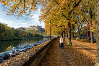 So schön ist der Herbst bei uns am Main in Würzburg!