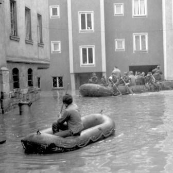 """Kärnergasse (siehe auch die Bilder weiter unten zum Thema """"Hochwasserstand"""")"""
