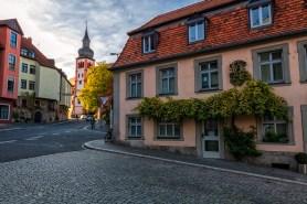 """Ein Stückchen """"altes"""" Würzburg im Mainviertel."""