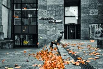 """Der Herbst mit seinen Stürmen ist da und weht dem """"Großen Sitzenden"""" die Blätter ins Gesicht. ;-)"""