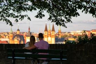 So schön kann man in Würzburg Sommerabende verbringen! ;-)